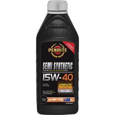 Penrite Semi Synthetic Engine Oil - 15W-40 1Litre, , scanz_hi-res