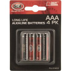 Battery - Alkaline, AAA, 4 Pack, , scanz_hi-res