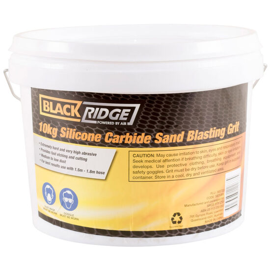 Blackridge Sand Blasting Grit - Silicone Carbide 10kg, , scanz_hi-res