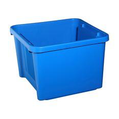 Plastic Storage Bin - Aqua, 30 Litre, , scanz_hi-res