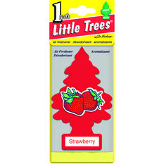 Little Trees Air Freshener - Strawberry, 1 Pack, , scanz_hi-res