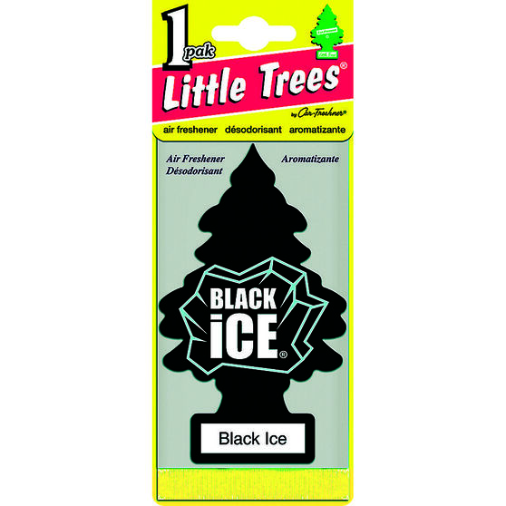 Little Trees Air Freshener - Black Ice, , scanz_hi-res