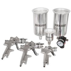 Air Spray Gun Kit, HVLP - 4 Piece, , scanz_hi-res