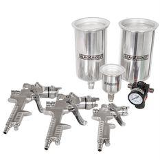 Blackridge Air Spray Gun Kit, HVLP - 4 Piece, , scanz_hi-res