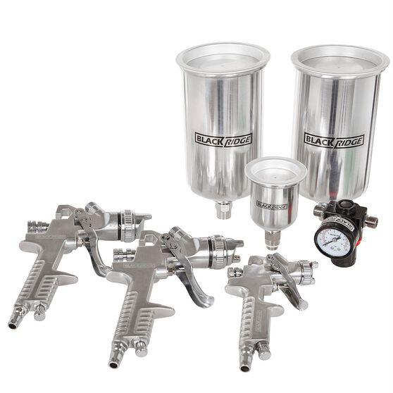 Air Spray Gun Kit, HVLP - 4 Piece, , scanz_hi-res