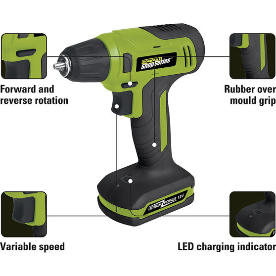 Rockwell Shop Series Cordless Drill - 12V, , scanz_hi-res