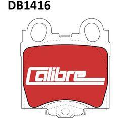 Calibre Disc Brake Pads DB1416CAL, , scanz_hi-res