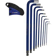 Hex Key Set - Long Arm, Metric, 9 Piece, , scanz_hi-res