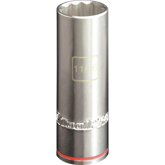 ToolPRO Single Socket - Deep, 1 / 2 inch Drive, 11 / 16 inch, , scanz_hi-res