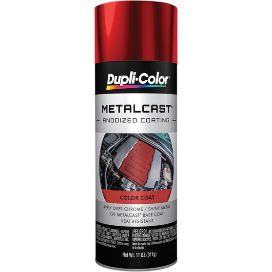 Dupli-Color Metalcast Aerosol Paint Enamel Red Anodised 311g, , scanz_hi-res