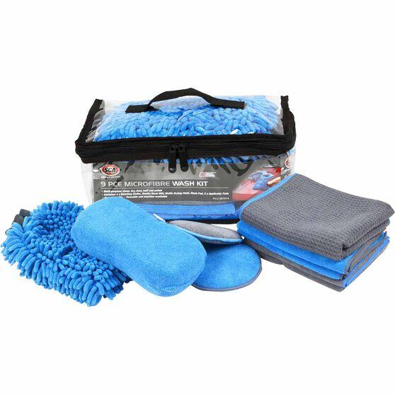 Microfibre Wash Kit - 9pce, , scanz_hi-res