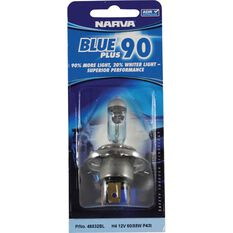 Narva Headlight Globe - Blue Plus 110, H4, 12V, 60/55W, , scanz_hi-res