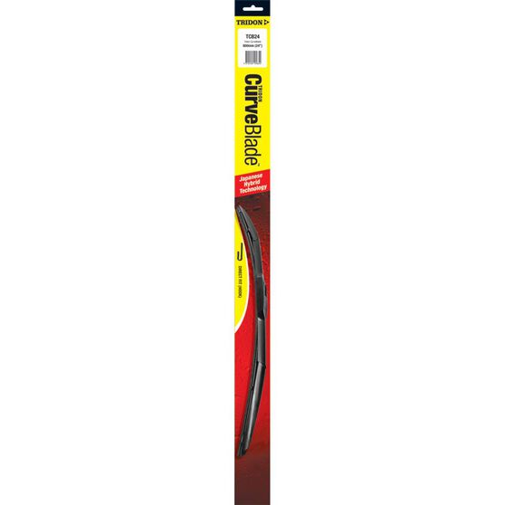 Tridon CurveBlade Single Wiper - 24in, , scanz_hi-res