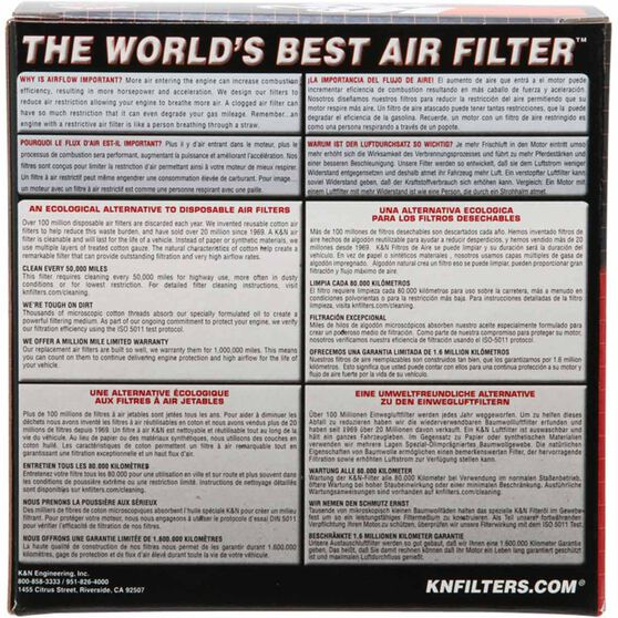 K&N Air Filter - E-3260, , scanz_hi-res