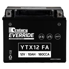 Century Powersports Small Engine Battery YTX12-BS FA, , scanz_hi-res