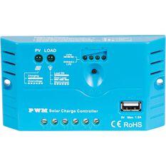 Ridge Ryder Solar Charge Regulator w / USB - 12V 10 AMP, , scanz_hi-res