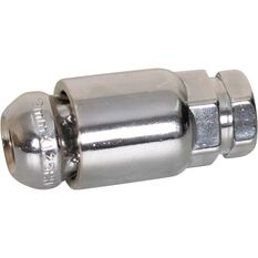 Wheel Nuts, Tapered Lock, Chrome- 12X1.25MM, , scanz_hi-res