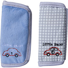 Cabin Crew Kids Seat Belt Buddies Blue/Grey Pair, , scanz_hi-res