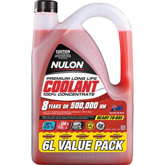 Nulon Red Premium Long Life Coolant Concentrate 6 Litre, , scanz_hi-res
