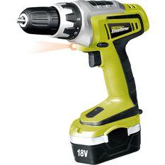 Cordless Drill - 18 Volt Ni-Cad, , scanz_hi-res