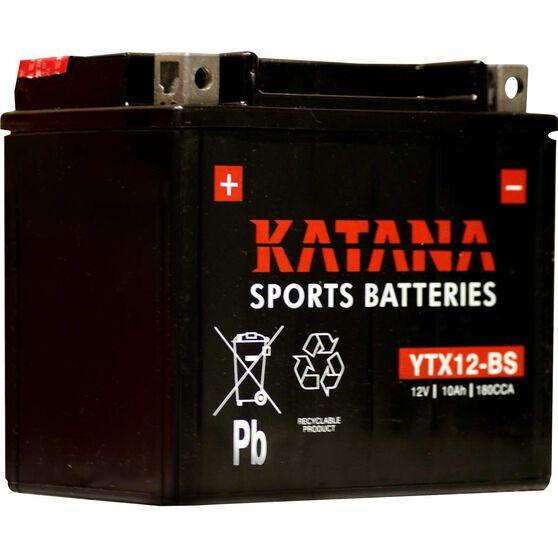 Katana Powersports Battery YTX12-BS, , scanz_hi-res