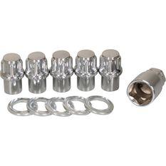 Wheel Nuts, Shank Lock, Chrome - 12X1.25MM, , scanz_hi-res