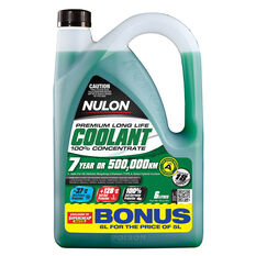 Nulon Long Life Anti-Freeze / Anti-Boil Concentrate Coolant - 6 Litre, , scanz_hi-res