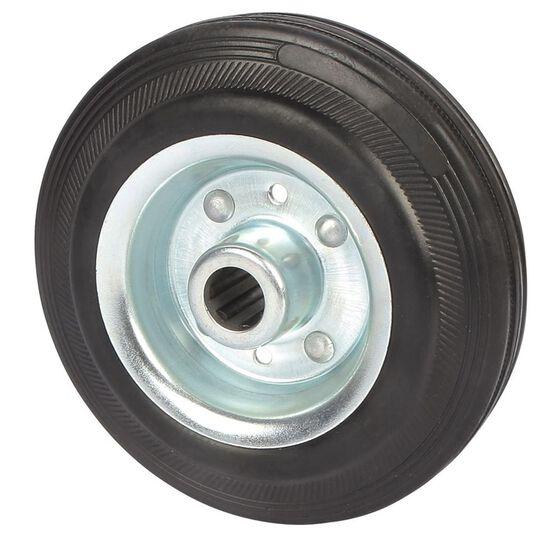 SCA Wheel Metal Rim - 125 x 35mm, Rubber, , scanz_hi-res