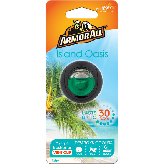 Armor All Vent Air Freshener - Island Oasis, 2.5mL, , scanz_hi-res
