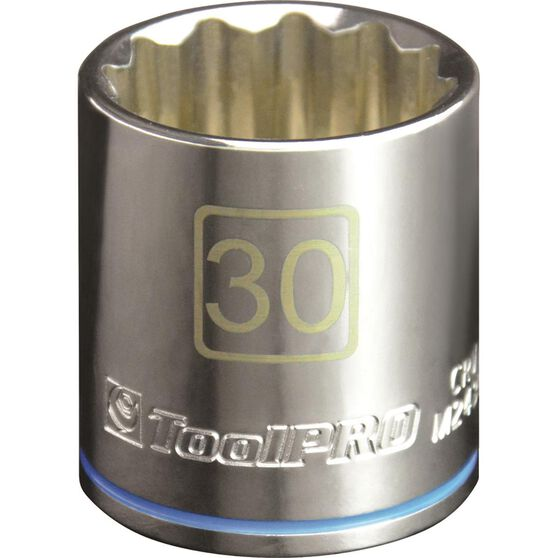 ToolPRO Single Socket - 1 / 2 inch Drive, 30mm, , scanz_hi-res