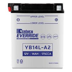 Powersports Battery -  YB14LA2, , scanz_hi-res
