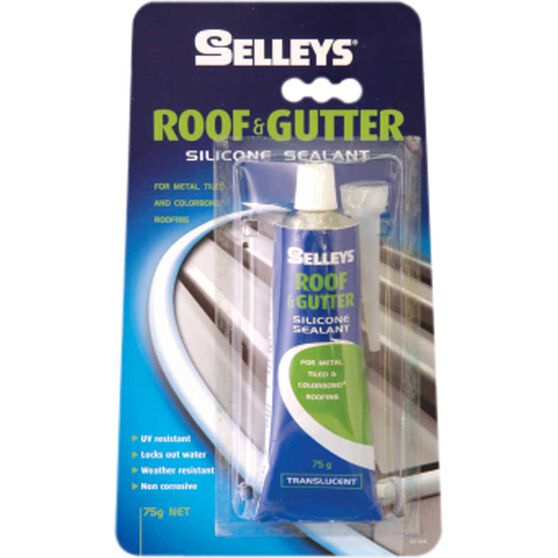 Roof & Gutter Sealant - Translucent, 75g, , scanz_hi-res