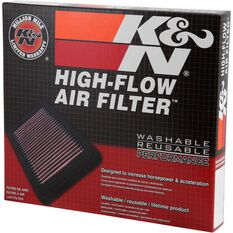K and N Air Filter - 33-2861 (Interchangeable with A1439), , scanz_hi-res