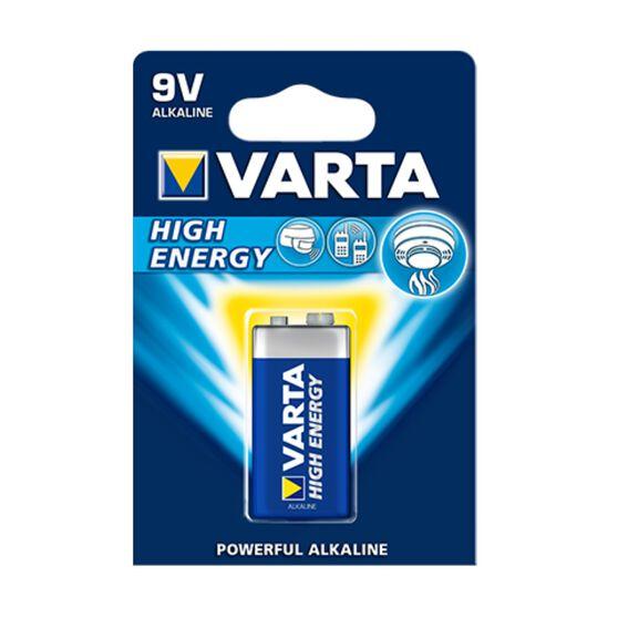 Varta High Energy Battery - 9V, 1 Pack, , scanz_hi-res
