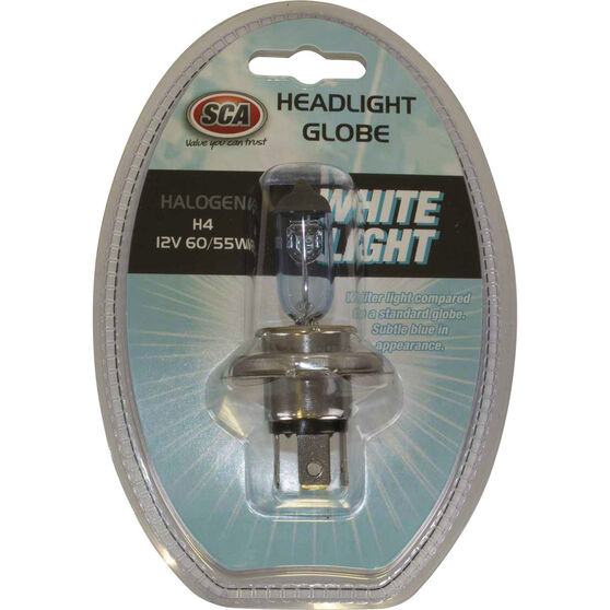 SCA White Light Performance Globes - 12V, 60/55W, H4, , scanz_hi-res