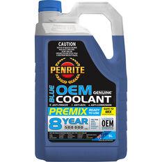 Penrite Blue OEM Coolant Premix  5 Litre, , scanz_hi-res