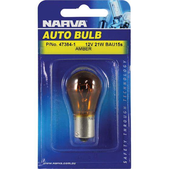 Narva Bulb - 12V, 21W, BAU15s, , scanz_hi-res