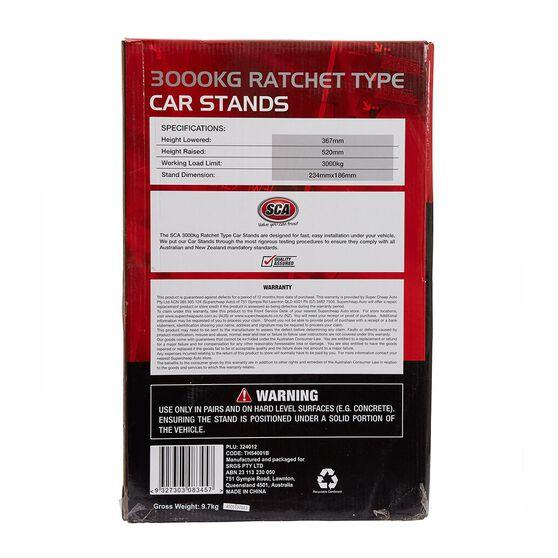 SCA Car Stands - Ratchet, 3000kg, , scanz_hi-res