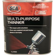 SCA Multi-Purpose Thinner - 4 Litre, , scanz_hi-res