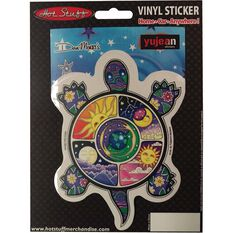 Sticker - Peace Turtle, Vinyl, , scanz_hi-res