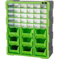 SCA Organiser - Green, 39 Drawer, , scanz_hi-res