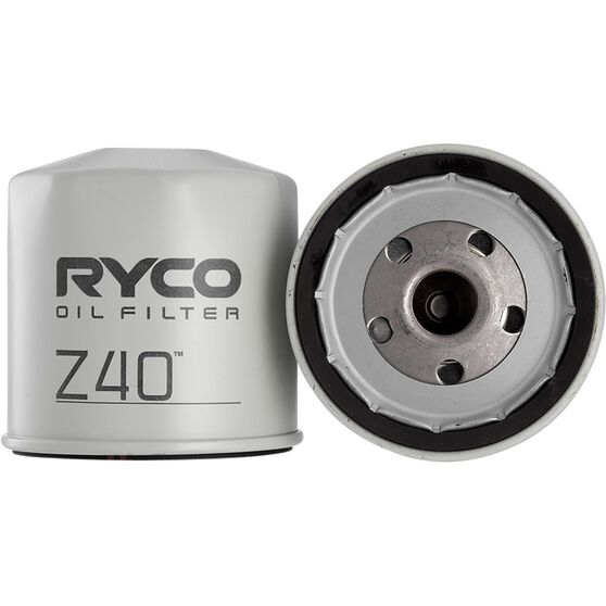 Ryco Oil Filter - Z40, , scanz_hi-res