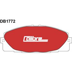 Calibre Disc Brake Pads DB1772CAL, , scanz_hi-res