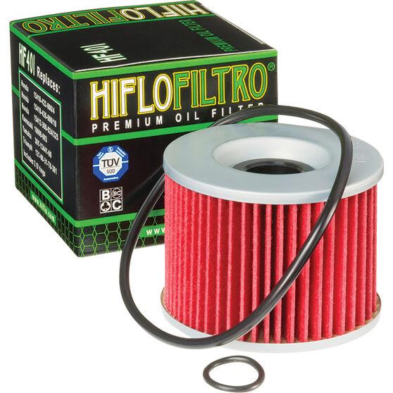 HifloFiltro Motorcycle Oil Filter HF401, , scanz_hi-res