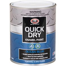 Quick Dry Enamel Blue 1 Litre, , scanz_hi-res