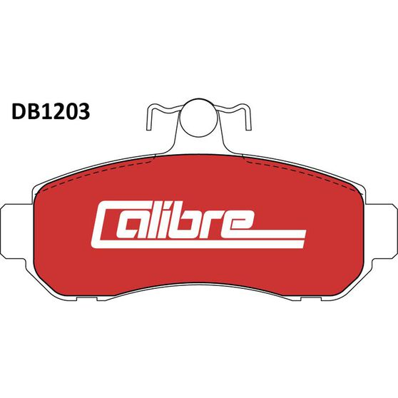 Calibre Disc Brake Pads - DB1203CAL, , scanz_hi-res