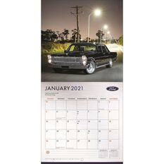 Calendar Ford Classic Cars Mini 2021, , scanz_hi-res