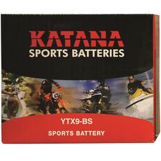 Powersports Battery -  YTX9BS, , scanz_hi-res