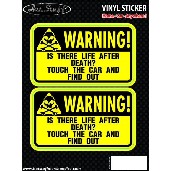 Hot Stuff Sticker - Life After Death, Vinyl, , scanz_hi-res