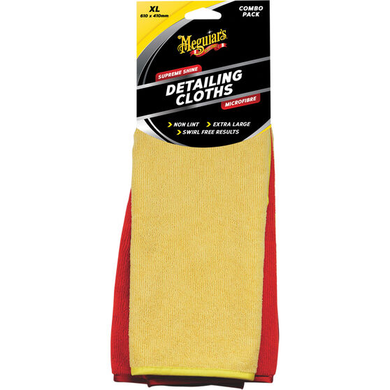 Meguiar's Supreme Shine Detailing Cloths - 2 Pack, , scanz_hi-res